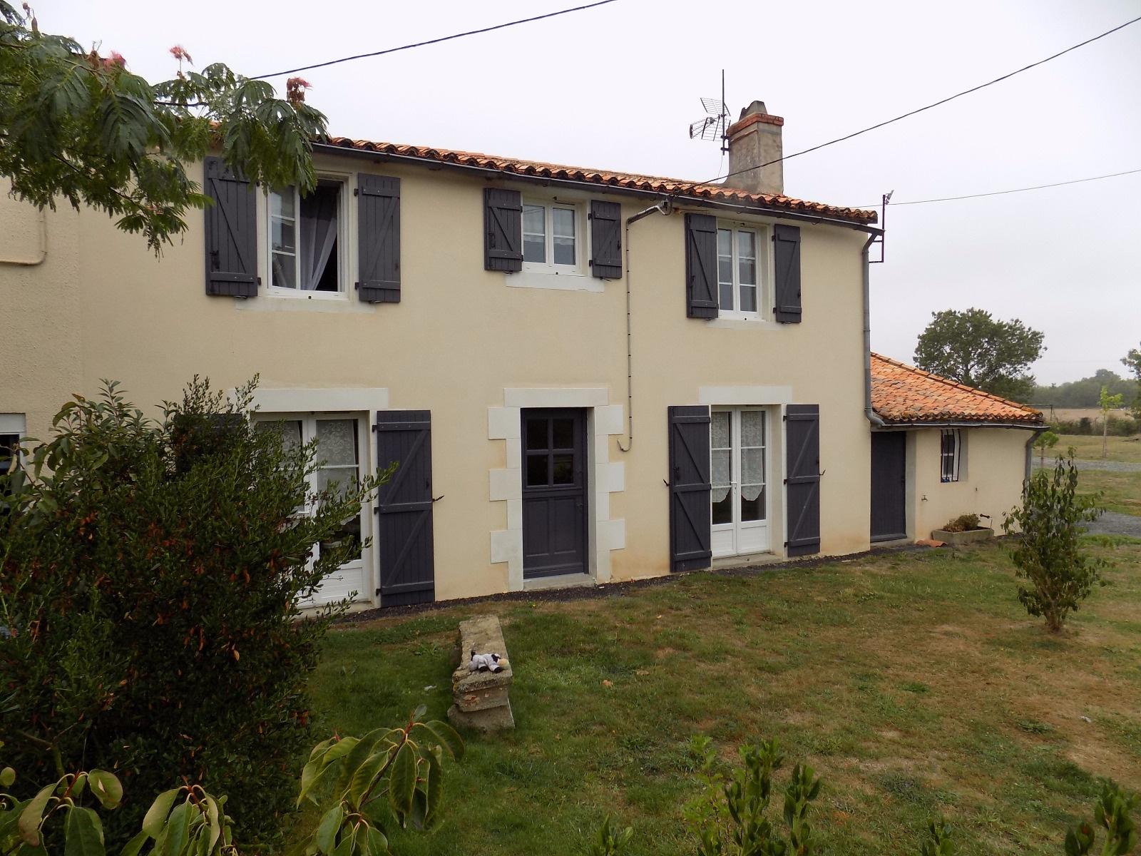 Vente maison ancienne r nov e a vendre louin - Maison ancienne renovee ...